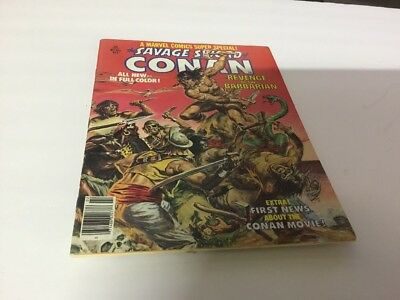 Vtg Comic Book #2 The Savage Sword Conan Revenge Of The Barbarian 1977