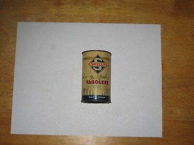 Skelly Fortified Tagolene Motor Oil Company Tin Can Bank