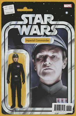 Star Wars #39 Action Figure Variant Imperial Commander Comic Book