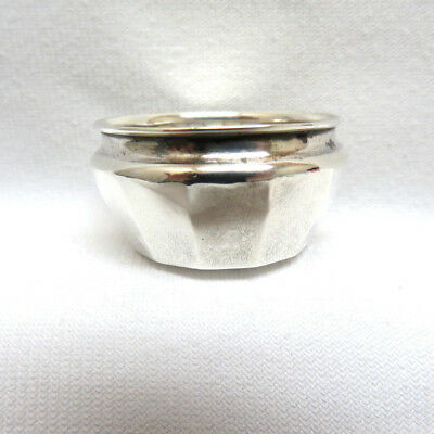 Antique Webster 925 Sterling Silver Open Salt Cellar
