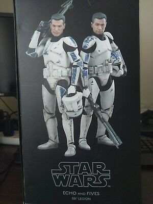 Sideshow Star Wars Clone Troopers Echo And Fives 1/6 Scale Figure