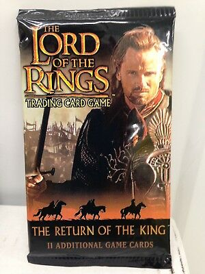 LOTR TCG Return of the King - 2 Boosters Sealed