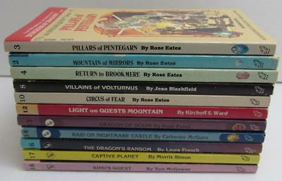 11 book lot ENDLESS QUEST dungeons & dragons 2 3 4 8 10 12 13 14 16 17 18