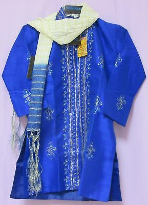 Boy's 4478 Kurta Pajama Assorted Size Indian Party Wear Shieno Sarees