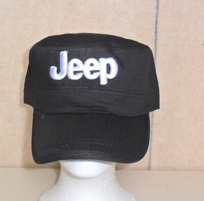 Jeep Hat Cadet Style Black Free Shipping Great Gift dbd4d0c82856