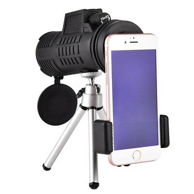Universal Phone & Microscope Adapter Flexible Legs Tripod Stand Bracket Holder