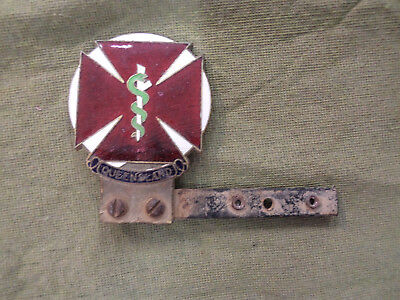 #d185.  Early Queensland Doctor Car Badge