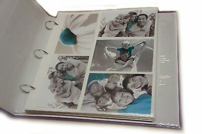 Arpan 20 Refill Photo Album Sheet Holds 6x4 200 Photos For Large Ringbinder