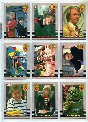Doctor Who Series 2 Premiere Complete Set of 9 Chase Cards - Cornerstone
