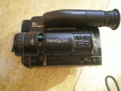 Parts / Repair  - Sony CCD-TR7  8mm Video8 Camcorder Player Video Transfer