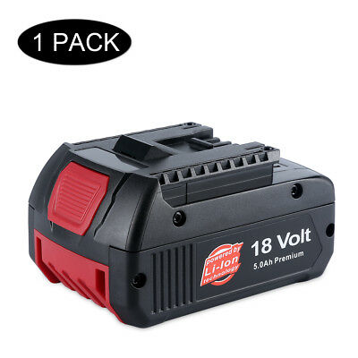New 18V 5.0Ah Lithium ion Battery for Bosch Professional GBA CoolPack