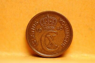 Iceland, 1940 Eyrir, Very Fine, heavy Lacquer, No Reserve,                   221
