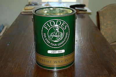 Fiddes Rugger Brown Supreme Furniture Wax Polish 5litre