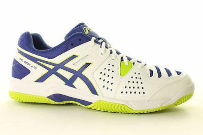 Asics Gel-Dedicate 4 Clay E508Y-0143 Mens Tennis Trainers~UK 7 TO 10 ONLY