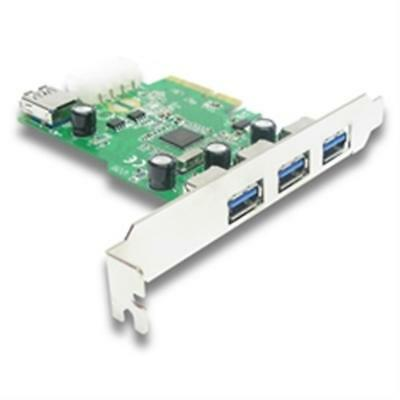 4 Port USB 3.0 PCI Express 2x Card PC Karte Computer Controller Hub PCIe Adapter