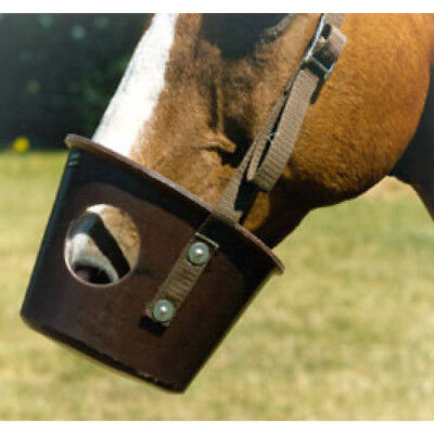 Stubbs Horse Unisex Healthcare Grazing Muzzle - Brown All Sizes