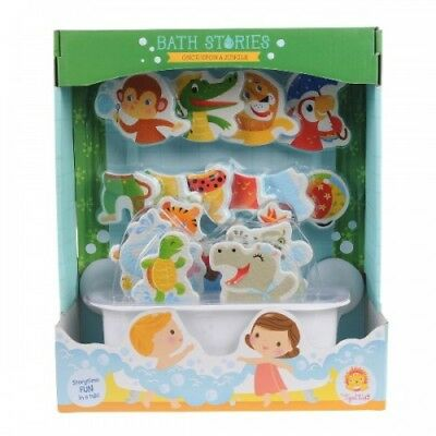 Tiger Tribe Bath Stories Once Upon a Jungle - Baby Kids Bath Water Play Puzzle