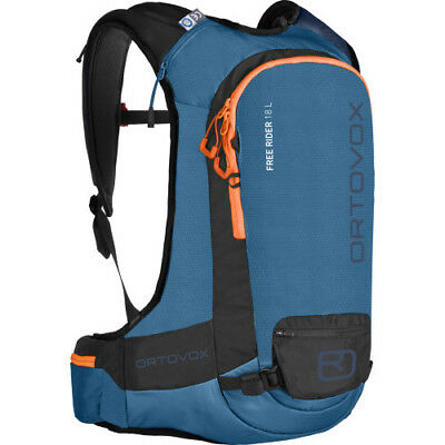 Ortovox Free Rider 18l Unisex Rucksack Snow Backpack - Blue Sea One Size