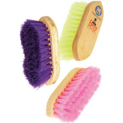Equerry Stablemate Junior Unisex Horse Care Dandy Brush - Purple One Size