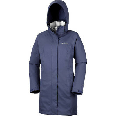 Columbia Salcantay Long Hooded Interchange Womens Jacket Synthetic Fill -