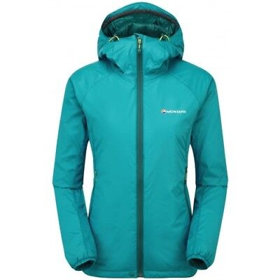 Montane Prism Womens Jacket Synthetic Fill - Zanskar Blue All Sizes