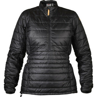Fjallraven Abisko Padded Pullover Womens Jacket Synthetic Fill - Black All Sizes