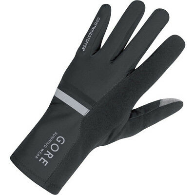Gore Running Mythos 2.0 Windstopper Unisex Gloves - Black All Sizes