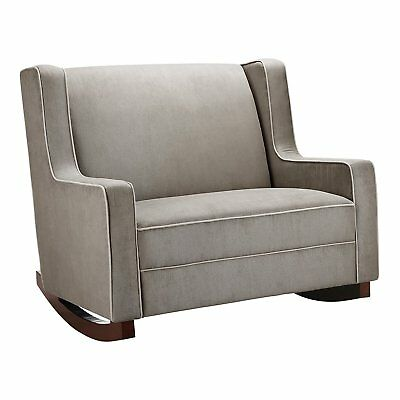 Baby Relax Double Rocker, Dark Taupe