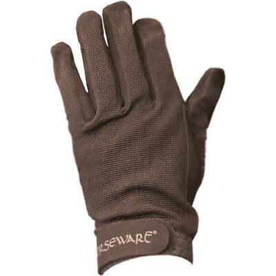 Horseware Multi Unisex Gloves Everyday Riding Glove - Brown All Sizes