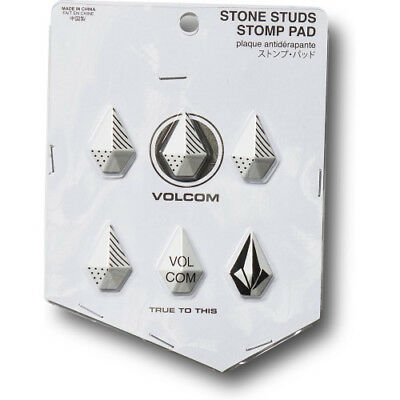 Volcom Stone Studs Unisex Accessory Stomp Pad - White One Size