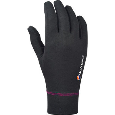 Montane Powerdry Womens Gloves - Black All Sizes