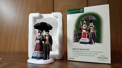 Dept 56 Dickens Village UNDER THE BUMBERSHOOT Mint, used one season!