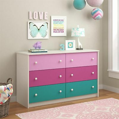 Ameriwood Home Kaleidoscope Whimsy 6-drawer Dresser By Cosco