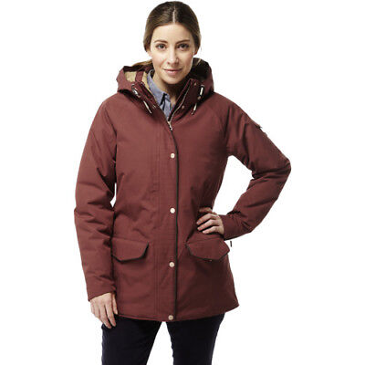 Craghoppers 250 Womens Jacket Coat - Dark Redwood All Sizes