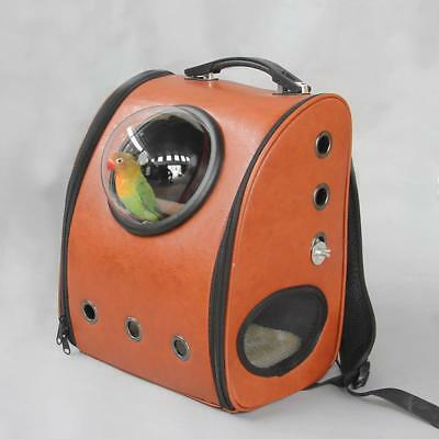 Portable Outdoor Travel Bird Carrier Backpack