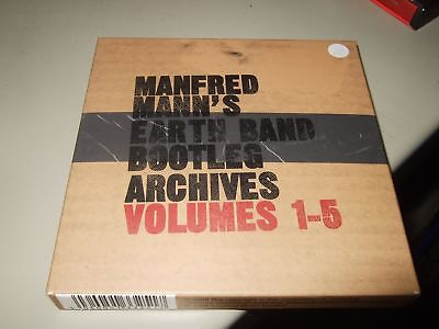Manfred Manns Earth Band : Bootleg Archives Volumes 1-5  5Cd Box 2009 Creature