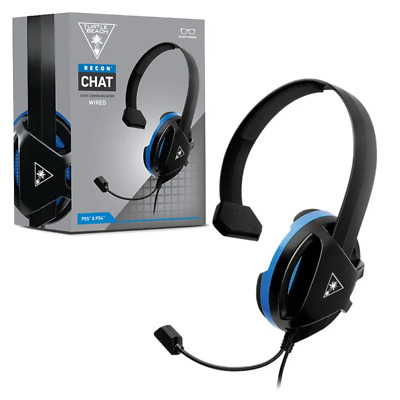 Turtle Beach Turtlebeach Ear Force Recon Chat Wired Headset for PS4 NEW