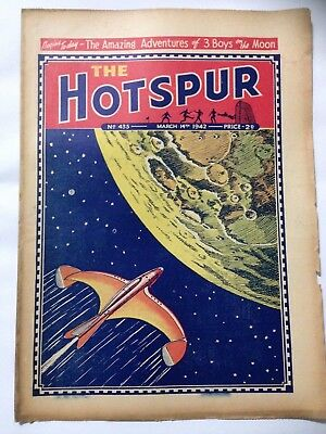 DC Thompson. THE HOTSPUR Wartime Comic. March 14th 1942 Issue 433.
