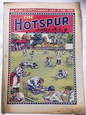 DC Thompson. THE HOTSPUR Wartime Comic. June 28th 1941 Issue 409.