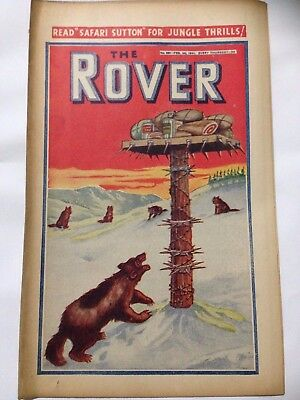 DC Thompson. THE ROVER Wartime Comic. February 1st 1941 Issue 981.