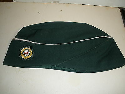 vintage official Girl Scout cap hat with patch MINT