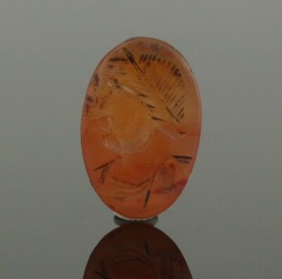 ANCIENT ROMAN GEMSTONE INTAGLIO OF EMPEROR GALLIENUS - CIRCA 2nd/3RD Century AD