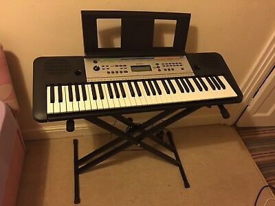 yamaha keyboard ypt 255 plus stand collection only from. Black Bedroom Furniture Sets. Home Design Ideas