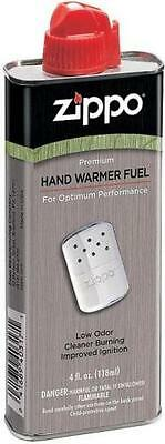 Genuine Zippo 4 oz.118ml Hand Warmer Lighter Fluid Premium Fuel