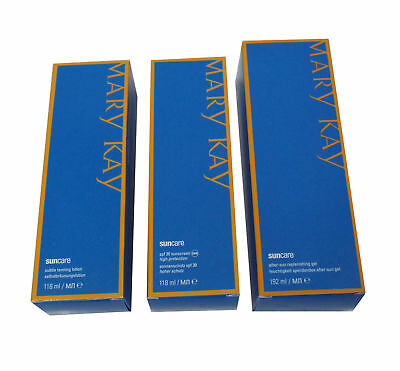 5x MARY KAY Suncare-Set 3-teilig Sonnencreme SPF 30 Aftersun tanning lotion