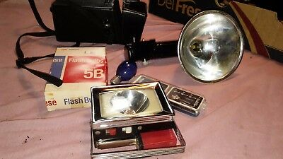 ***lot Of Camera Accessories--Carry Bag--Flashes, Tools--L@@k***
