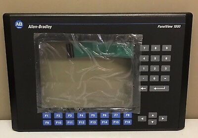 New Allen Bradley 2711-K10 Replacement Bezel + Screen + Keypad PV1000-K Overlay