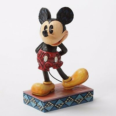 Jim Shore Disney Tradition The Original Mickey Mouse Personality Pose 4032853