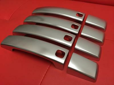 Land Rover Discovery 4 - Satin Chrome Door Handle Covers - Fantastic Quality