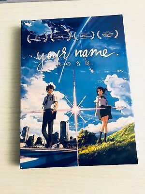 Your Name (DVD, 2017) Kimi No Na Wa Movie Makoto Shinkai w/ English Subs